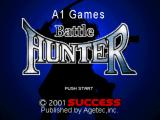 Battle Hunter PlayStation Title screen