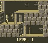 Prince of Persia Game Boy Level 1
