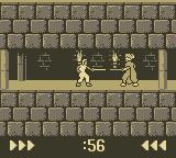 Prince of Persia Game Boy Encounter with Guard