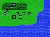 "Mecha Taisen on Planet Oldskool MSX You start out with four units against five ""grunts"""