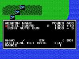 Mecha Taisen on Planet Oldskool MSX Choose a weapon