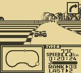 F-1 Race Game Boy Rounding the corner