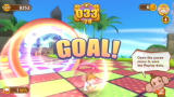 Super Monkey Ball: Banana Blitz Wii Reached the goal.