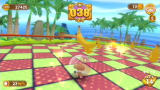 Super Monkey Ball: Banana Blitz Wii The aim of the bonus stage is to collect all the bananas.