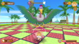 Super Monkey Ball: Banana Blitz Wii Hit the boss on the head to beat him.