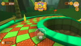 Super Monkey Ball: Banana Blitz Wii A curve and a steep drop approach