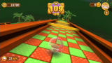 Super Monkey Ball: Banana Blitz Wii These bars move as you approach them.
