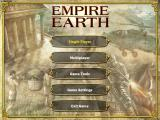 Empire Earth Windows Main menu.