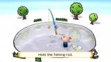 Wii Play Wii Grab the rod to start fishing!