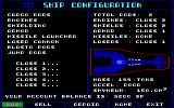 Starflight 2: Trade Routes of the Cloud Nebula DOS Configuring your ship.