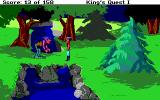 Roberta Williams' King's Quest I: Quest for the Crown DOS A mean troll