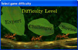 Amazon Trail 3rd Edition Windows Select your difficulty level