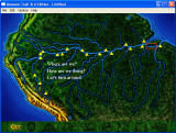 Amazon Trail 3rd Edition Windows The macro-level map