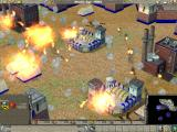 Empire Earth Windows Heavy artillery bombardment destroys a French camp.