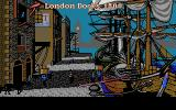 Champion of the Raj DOS Introduction: from the docks of London (VGA)