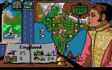Champion of the Raj DOS India map (VGA)