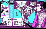 Champion of the Raj DOS India map (CGA)