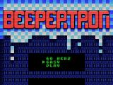 Beepertron MSX Select level of difficulty