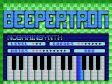 Beepertron MSX The computer plays