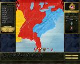 Europa Universalis III Windows Shows the setup for the American War of Independence.