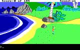 King's Quest II: Romancing the Throne DOS Opening screen
