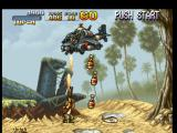 Metal Slug: Super Vehicle - 001 PlayStation A missile-shooter helicopter tries to stop Marco Rossi, but he starts a Heavy-Machine-Gun-offensive!