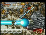 Metal Slug: Super Vehicle - 001 PlayStation And Metal Slug is suddenly damaged by the huge energy beam fired by a wrecked plane (The Bomber)...