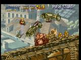 Metal Slug: Super Vehicle - 001 PlayStation Metal Slug Frontal Attack: a good way to beat many enemies and an unusual way to free hostages...