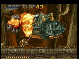 Metal Slug: Super Vehicle - 001 PlayStation Marco Rossi throwing another round of bombs, now in the Jumbo Jet: sorry for this, General Morden...