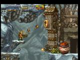 Metal Slug: Super Vehicle - 001 PlayStation To continue his task, Marco Rossi must to raise the wall ahead, and he'll do this using some bombs.