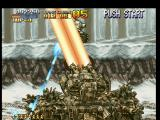 Metal Slug: Super Vehicle - 001 PlayStation The Big Tank shoots a huge energy beam, that hits Metal Slug: however, its shooting round continues!