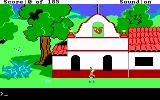 King's Quest II: Romancing the Throne DOS Outside a church