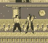 Mortal Kombat Game Boy Liu Kang vs. Scorpion (1)