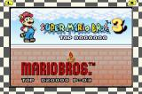 Super Mario Bros. 3 Game Boy Advance Choose a Remake Game