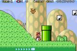 Super Mario Bros. 3 Game Boy Advance Sliding Down a Hill