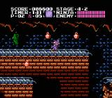 Ninja Gaiden NES Hit the underground rail tracks in stage 4-2