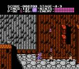 Ninja Gaiden NES In stage 4-3, you start to make your way up the tower
