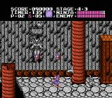 Ninja Gaiden NES More action in stage 4-3