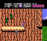 Ninja Gaiden NES Stage 5-2 puts you back in the great outdoors
