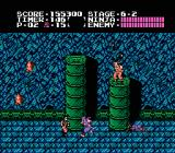 Ninja Gaiden NES Inside the tower in stage 6-2