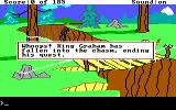 King's Quest II: Romancing the Throne DOS Oh no!