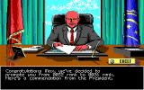 Sid Meier's Covert Action DOS Successful Spies get promotions up the double-oh ranks