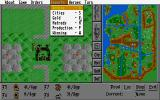 Warlords DOS Menu and city production