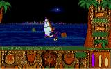 Windsurf Willy Atari ST Night-time racing