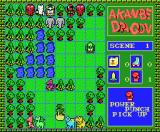 Akanbe Dragon MSX The enemy moves