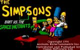 "The Simpsons: Bart vs. the Space Mutants DOS When there are two title screens I like to call one of them a ""splash screen""."