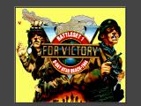 V for Victory: Battleset 1 - D-Day Utah Beach - 1944 DOS Title screen