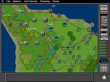 V for Victory: Battleset 1 - D-Day Utah Beach - 1944 DOS Switching to the Ops menu in the top right