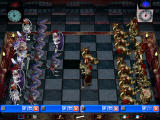 "Combat Chess Windows The board with the ""west"" view"