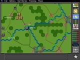 V for Victory: Market Garden DOS The game map